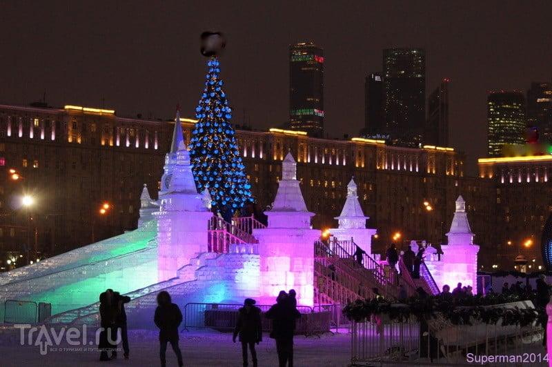 Новогодняя Москва 2016-2017 / Россия