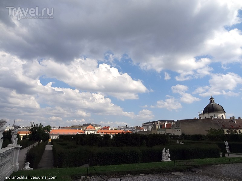 Дворцово-парковый комплекс Бельведер в Вене / Фото из Австрии
