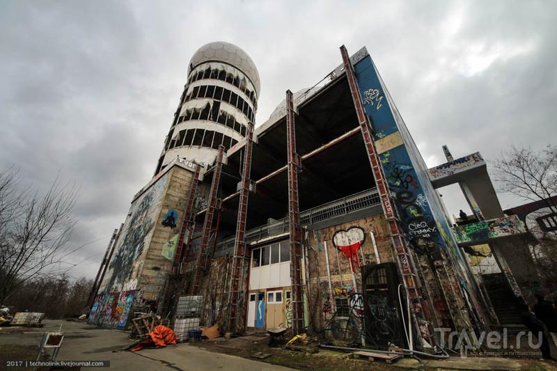 Американская шпионская станция в западном Берлине / Фото из Германии
