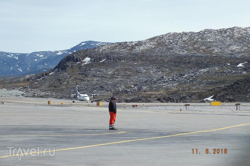 Перелет Илулиссат - Рейкьявик / Исландия