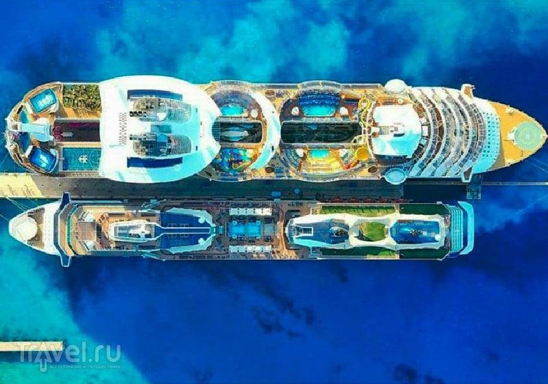 Harmony of the Seas vs Celebrity Eclipse / Фото из Мексики