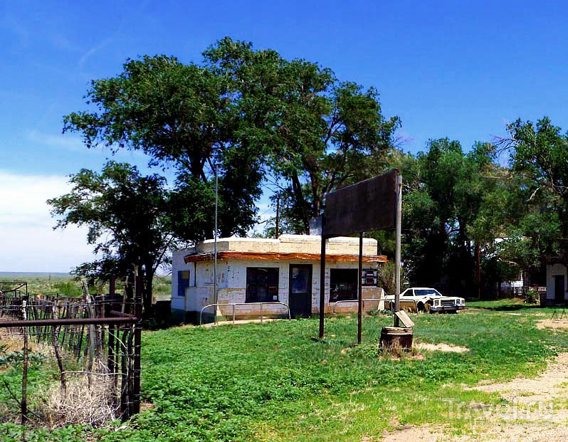 Техас. Mother Road 66 / Фото из США