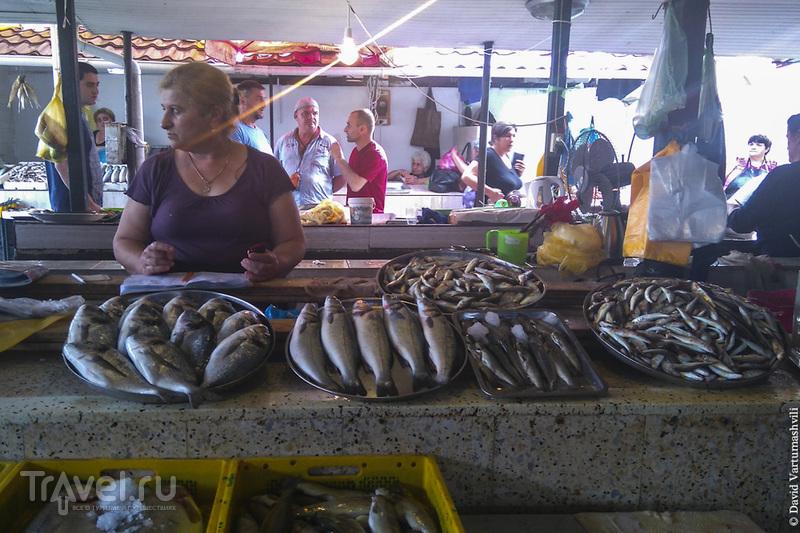 Батумский рыбный рынок / Грузия
