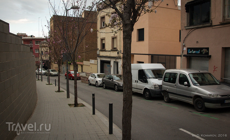 Барселона в объективе пешехода: с горы на гору / Испания