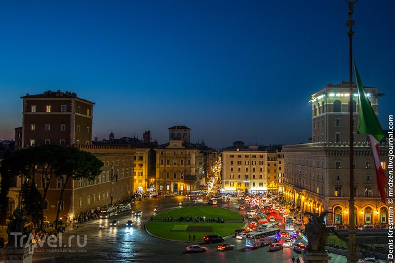 Суровый римский ноябрь / Фото из Италии
