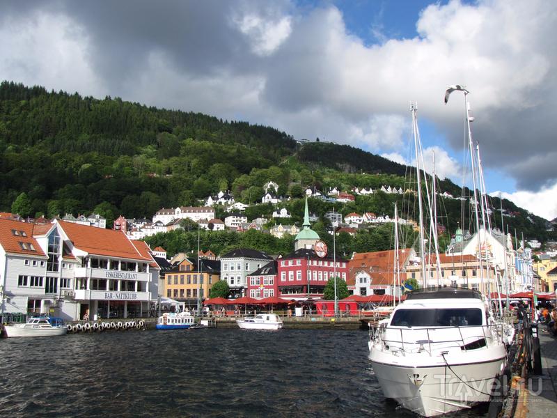 Норвегия, Берген / Фото из Норвегии