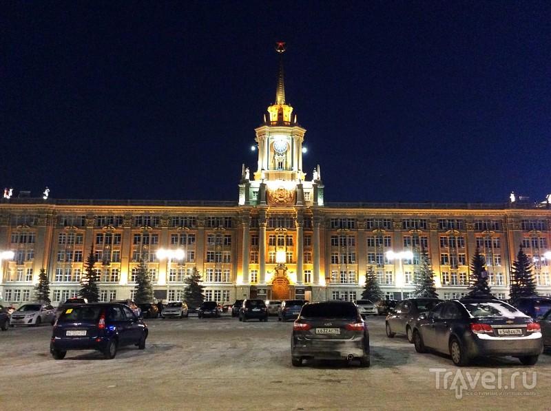 Немного зимнего Екатеринбурга / Россия