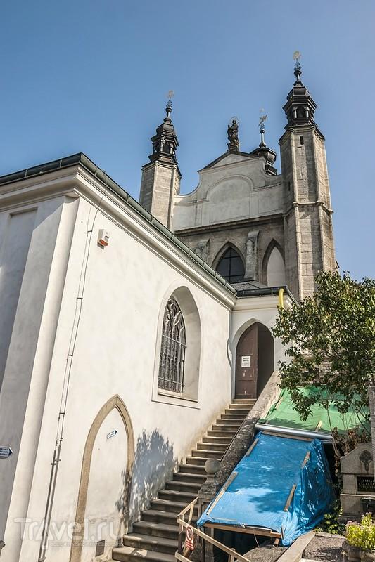 Костёл Всех Святых и кладбище Седлецкого монастыря / Чехия