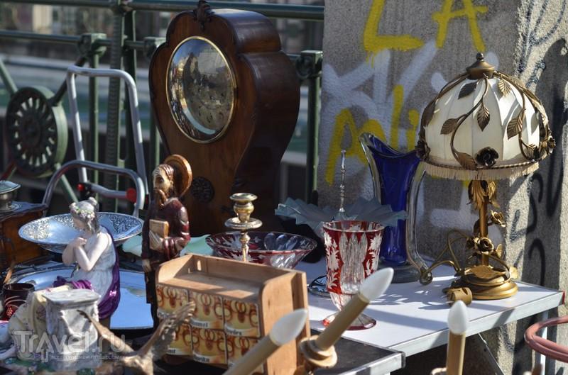 Нашмаркт - блошиный рынок Вены / Австрия