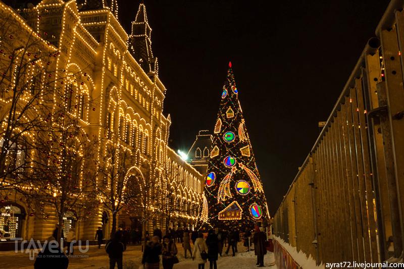 Вечерняя зимняя Москва. Фотозарисовка / Россия