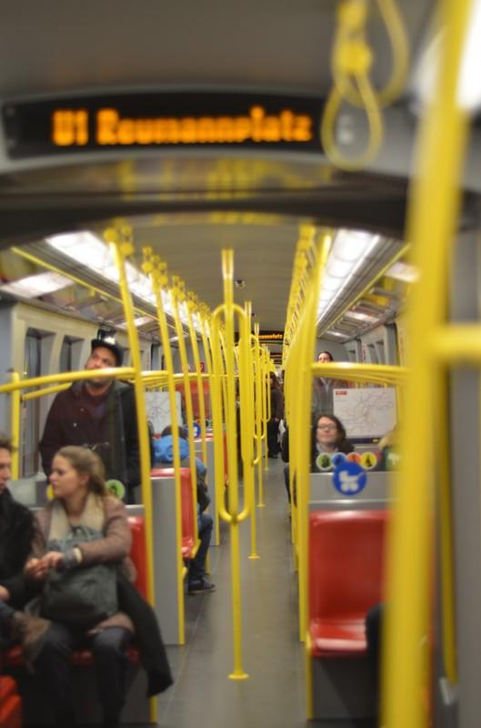 Общественный транспорт Вены / Австрия