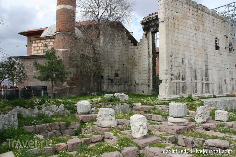 Акрополь римской Анкары / Турция
