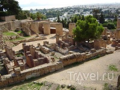 Карфаген. Развалины финикийского квартала на холме Бирса / Тунис