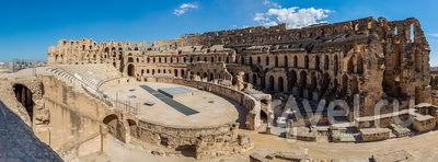 Амфитеатр в Эль-Джеме / Тунис