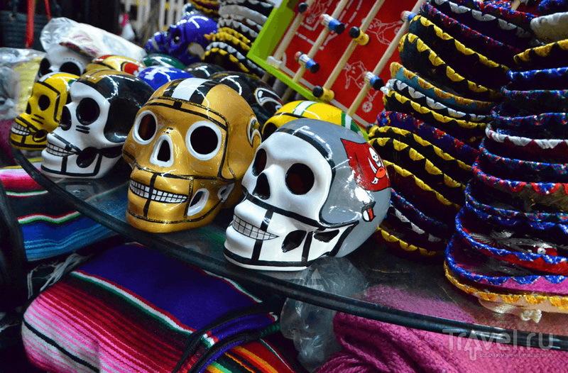 Сувениры в Тихуане, Мексика / Фото из Мексики