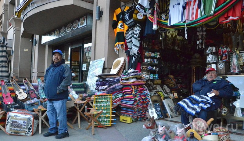 Сувенирная лавка в Тихуане / Фото из Мексики