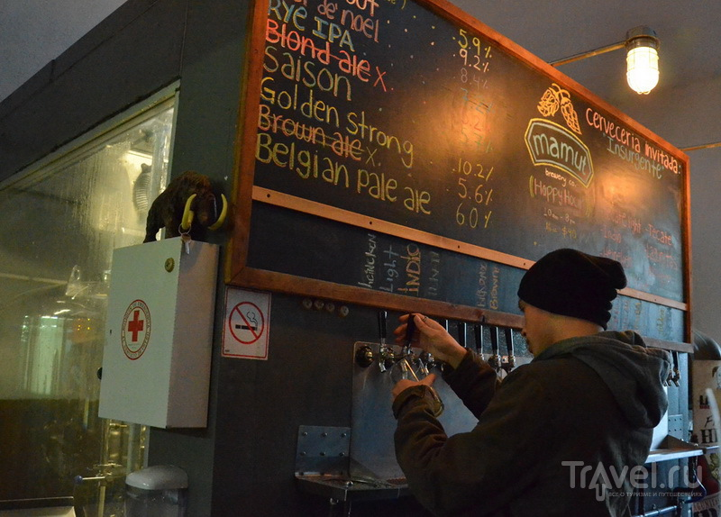 Ресторан-пивоварня Mamut в Тихуане / Фото из Мексики