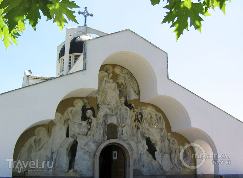 Церковь у дома пророчицы Ванги в Рупите, Болгария / Фото из Болгарии
