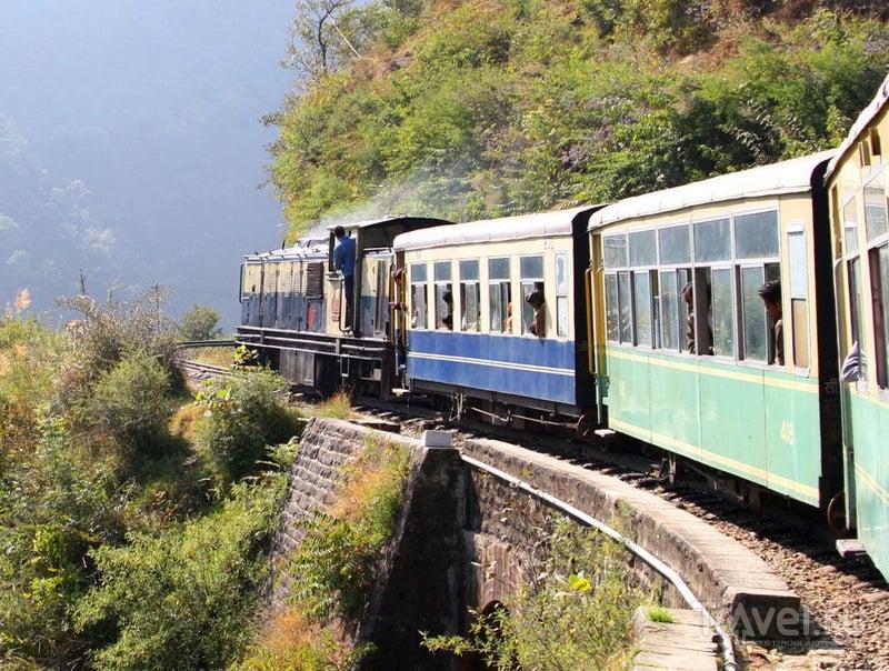 Железная дорога в Индии / Индия