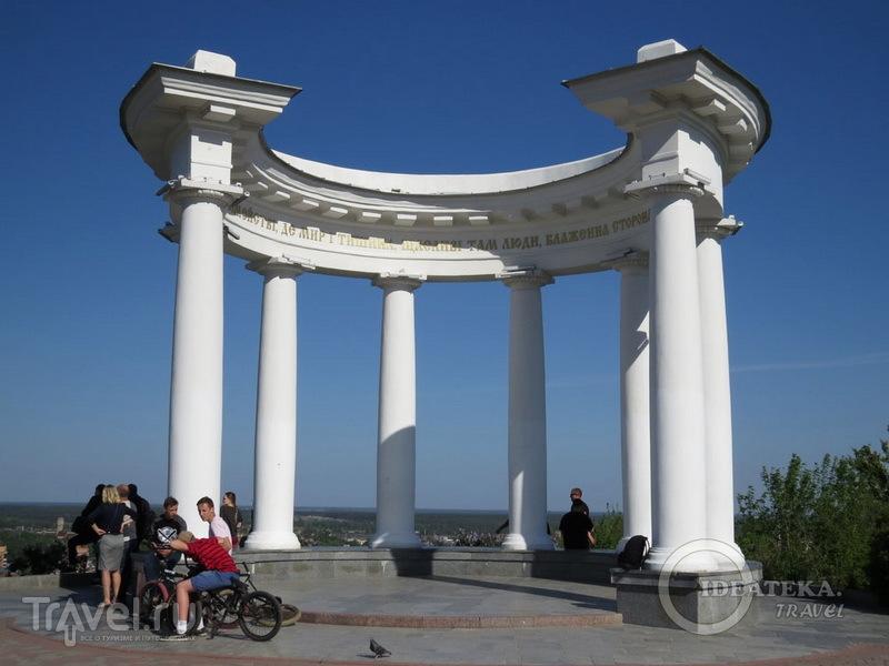 Беседка в Полтаве / Фото с Украины