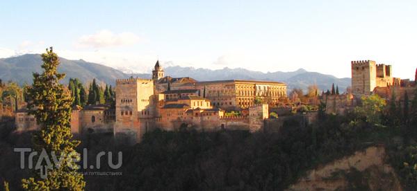 Вид а Альгамбру, Испания / Фото из Испании