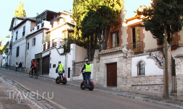 На улице Гранады, Испания / Фото из Испании