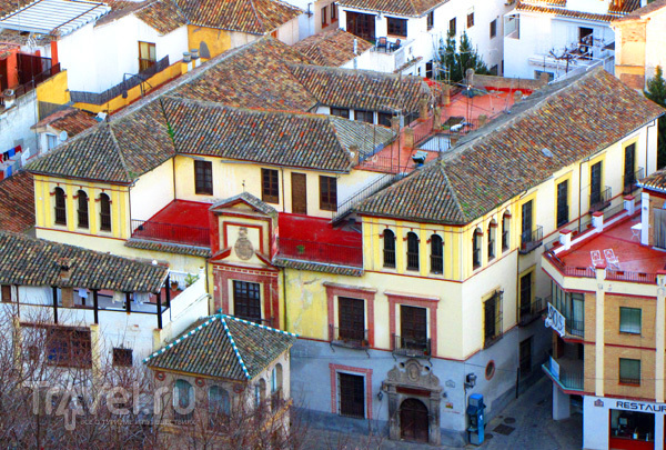 Дома в Гранаде, Испания / Фото из Испании