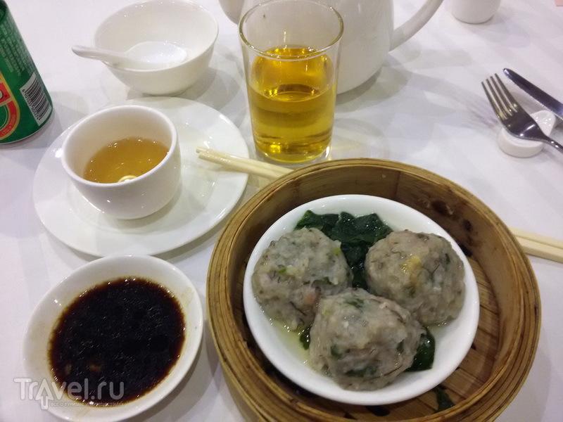 Fish balls в Tack Hsin Restaurant / Макао (Аомынь)
