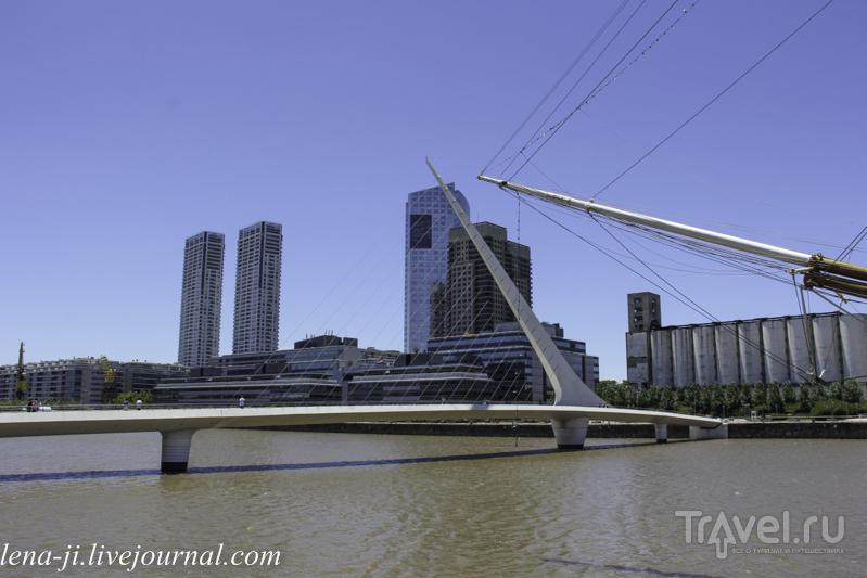 Буэнос-Айрес. Район Пуэрто-Мадеро / Аргентина