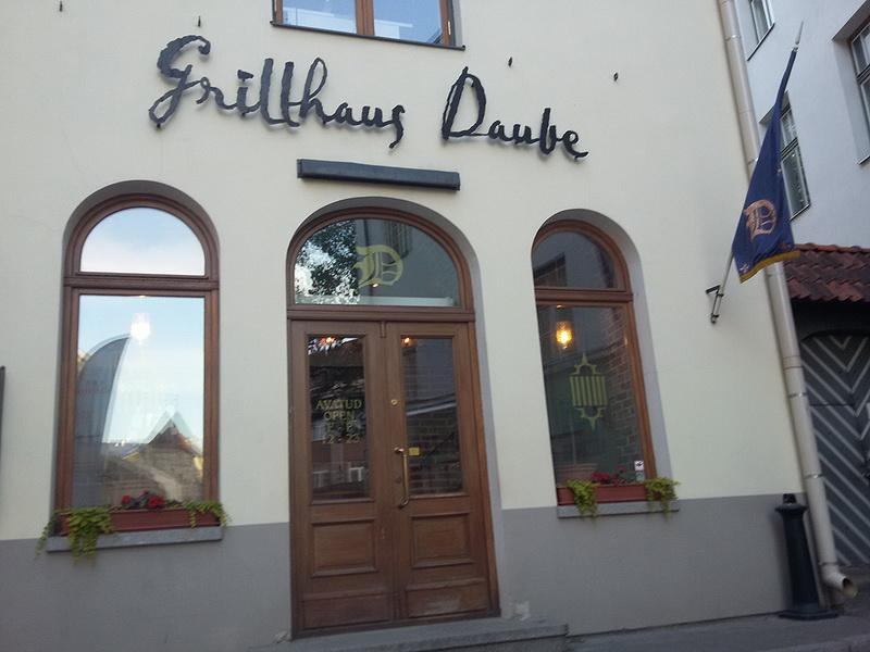Grillhaus Daube: любимый ресторан в Таллине / Эстония