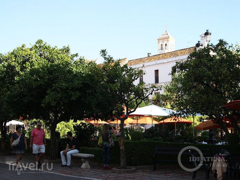 Площадь в Марбелье / Испания