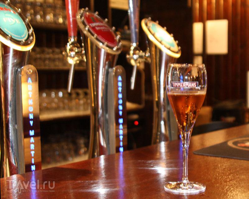 В дегустационном зале пивоварни Timmermans / Бельгия