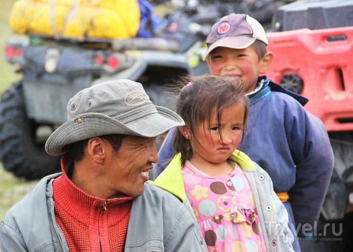 Русские особенности монгольской национальной рыбалки / Монголия