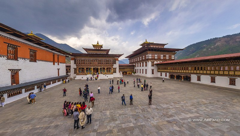 Тхимпху, Ташичо-дзонг / Фото из Бутана