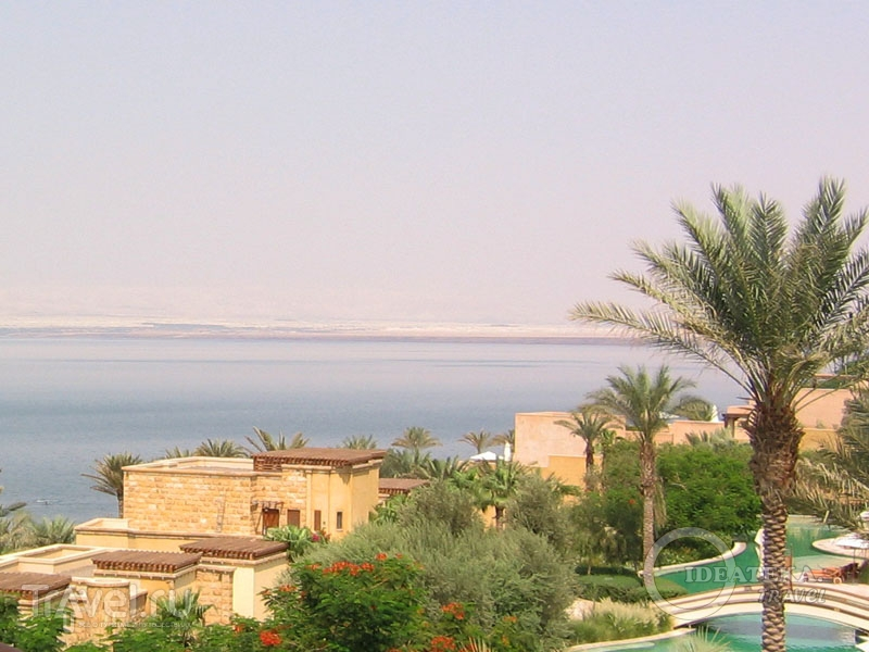 Вид с балкона Kempinski Hotel Ishtar / Фото из Иордании