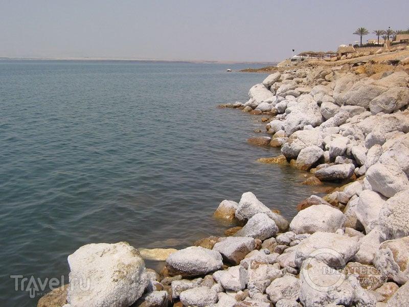 Побережье Мертвого моря в Иордании / Фото из Иордании