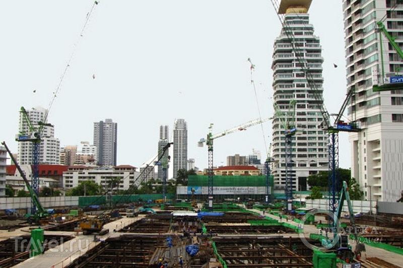 Стройплощадка в Бангкоке / Фото из Таиланда