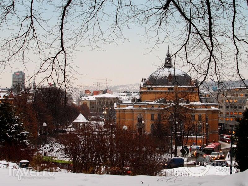 Вид на Осло / Фото из Норвегии