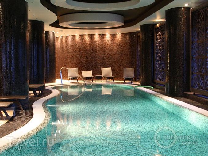 Спа-центр в отеле Swissôtel Tallinn / Эстония