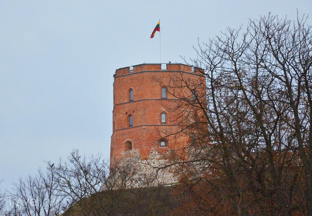 Башня Гедиминаса в Вильнюсе / Литва