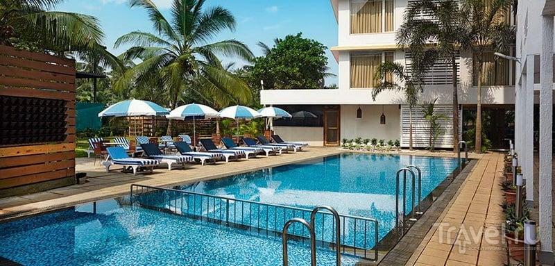 Turtle Beach Resort Morjim / Индия