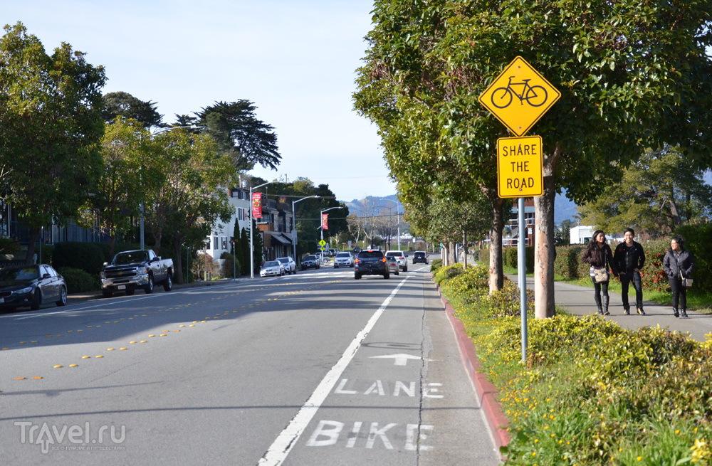 Велодорожка в Сан-Франциско / Фото из США