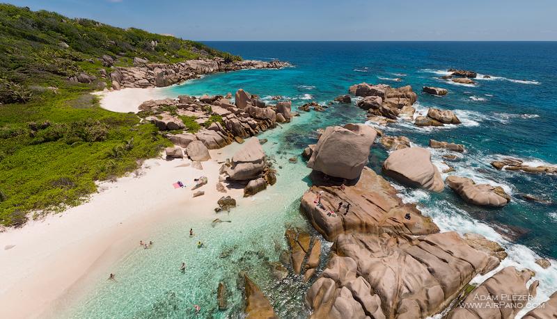 Пляж Анс Маррон, остров Ля Диг. Сейшельские Острова / Фото с Сейшел