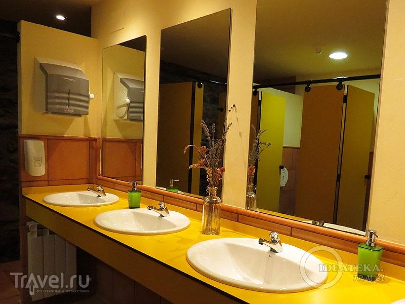 Общий санузел в отеле Xalet Refugi Pere Carné / Испания