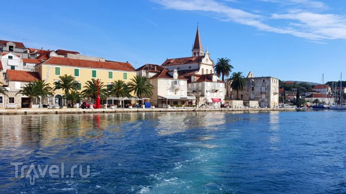 Поселок Милна на острове Брач в Хорватии / Хорватия