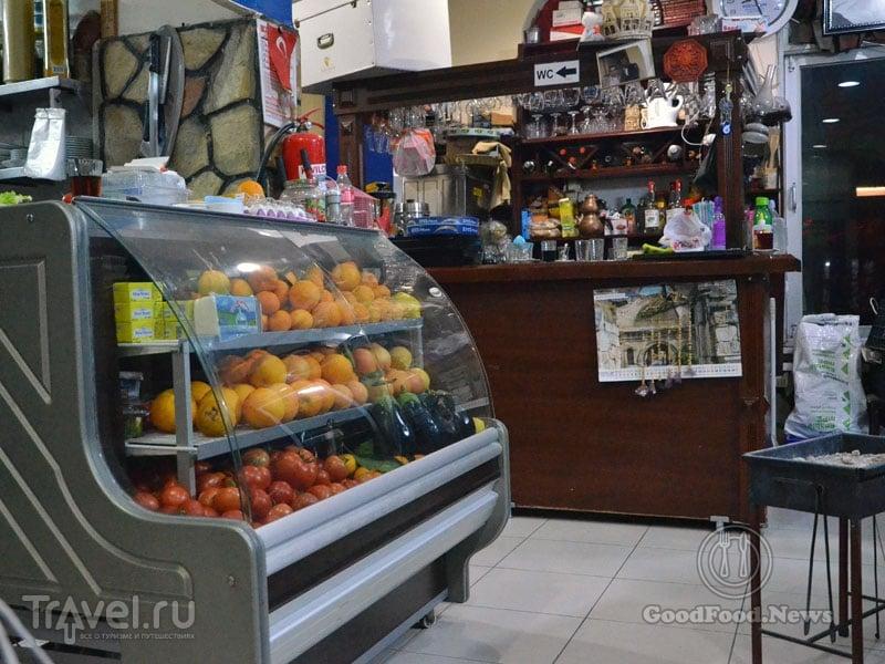 Интерьер ресторана Gül Pide в Алании / Фото из Турции