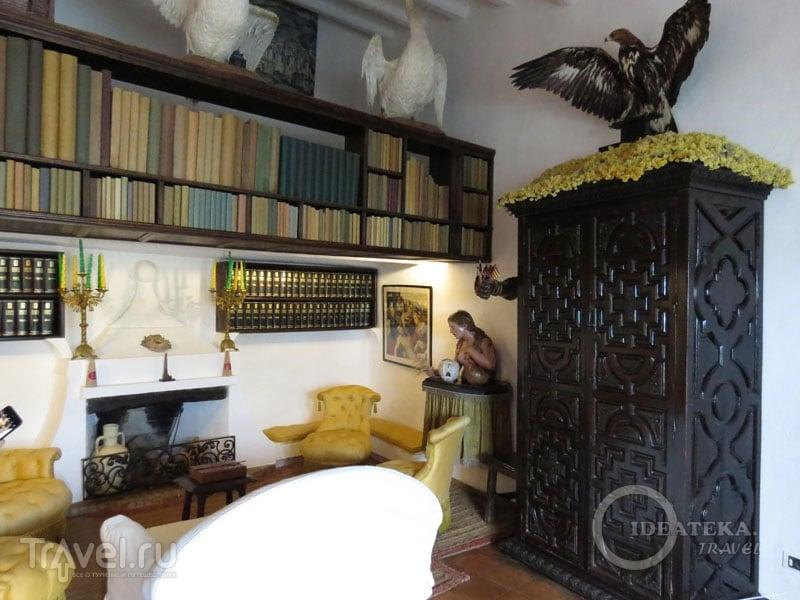 Комната в доме Сальвадора Дали в Кадакесе / Фото из Испании