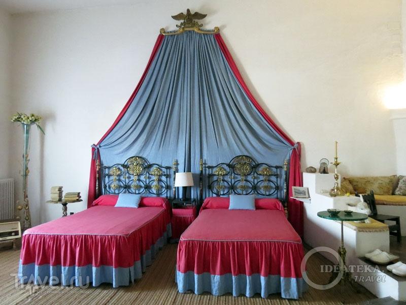 Спальня в доме Сальвадора Дали в Порт-Льигат / Фото из Испании