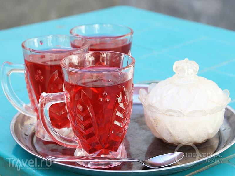 В Египте алкоголю предпочитают чай каркаде / Тунис
