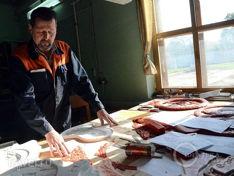 Рабочий стол мастера / Фото из России